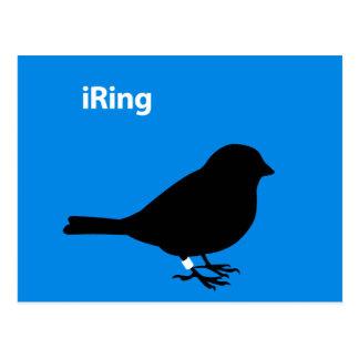 iRing Blue Postcard
