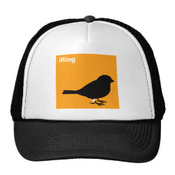 Trucker Hat with iRing Orange design