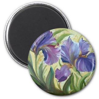 Iris 2 Inch Round Magnet