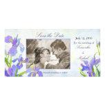 Iris: Ahorre las tarjetas de la foto de la fecha Tarjetas Personales Con Fotos