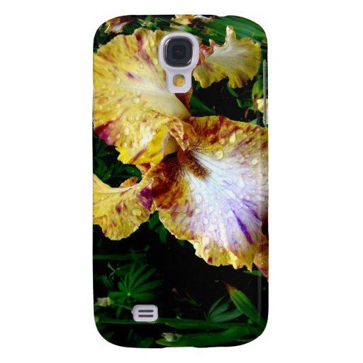Iris amarillo funda para galaxy s4