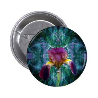 Iris and its meaning pinback button