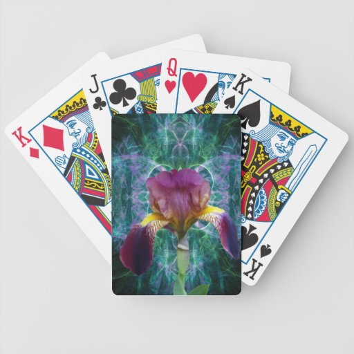 Iris and its meaning poker deck