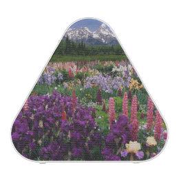 Iris and Lupine garden and Teton Range, Bluetooth Speaker