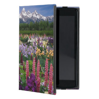 Iris and Lupine garden and Teton Range, Cases For iPad Mini