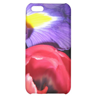 Iris and Tulips Cover For iPhone 5C