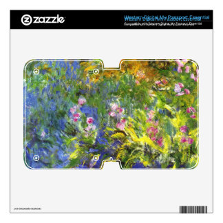 Iris at the sea-rose pond2 by Claude Monet WD My Passport Skin