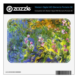Iris at the sea-rose pond2 by Claude Monet WD Elements SE Skins