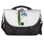 Iris azul de Pedro-José Redouté Bolsas Para Ordenador
