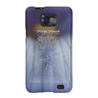 Iris azul y amarillo de BLYE Galaxy S2 Funda