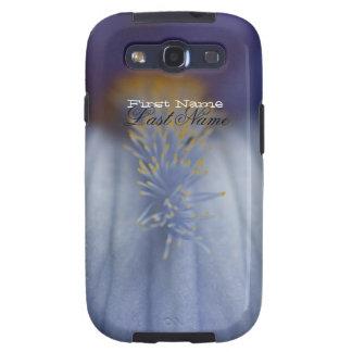 Iris azul y amarillo de BLYE Galaxy S3 Carcasas
