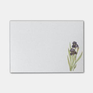 iris barbudo (germanica del iris) por Redouté Post-it® Notas
