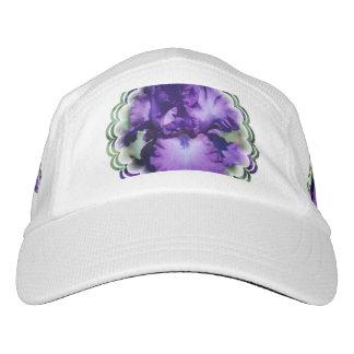 Iris barbudo púrpura gorras de alto rendimiento