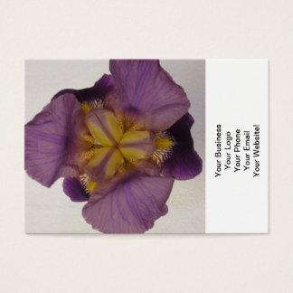Iris Bearded Purple Business Card