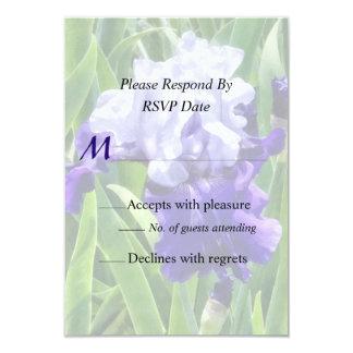 Iris Best Bet Wedding Products 3.5x5 Paper Invitation Card