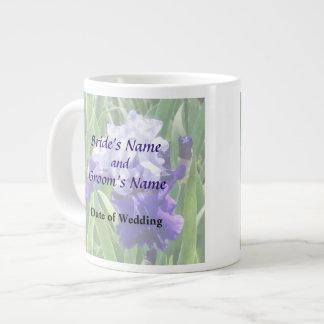 Iris Best Bet Wedding Products 20 Oz Large Ceramic Coffee Mug