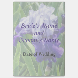Iris Best Bet Wedding Products Post-it® Notes
