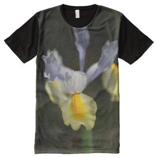 Iris Blue by bubbleblue All-Over-Print Shirt