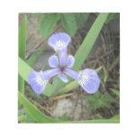 Iris Blue Flag Flower Notepad