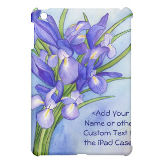 Iris Bouquet Flower Painting iPad Speck Case Cover For The iPad Mini