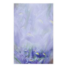 Iris Bouquet Stationery