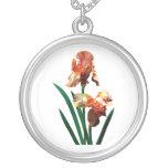 Iris bronceados joyería