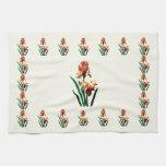 Iris bronceados toallas de mano