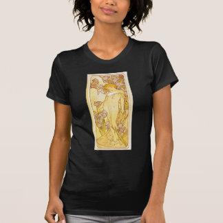 Iris by Alphonse Mucha T-Shirt