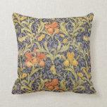 Iris by William Morris Pillows
