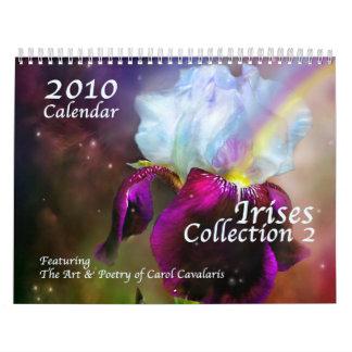 Iris - calendario de la colección 2 para 2010