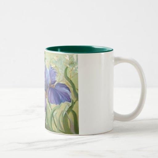 Iris Coffee Mugs