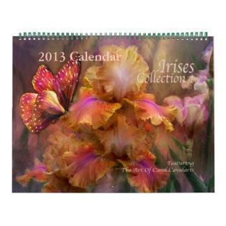 Iris Collection 1 Art Calendar 2013