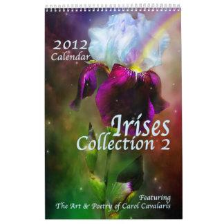 Iris Collection 2 Art Calendar 2012