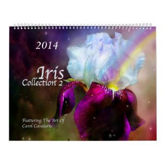 Iris Collection 2 Art Calendar 2014