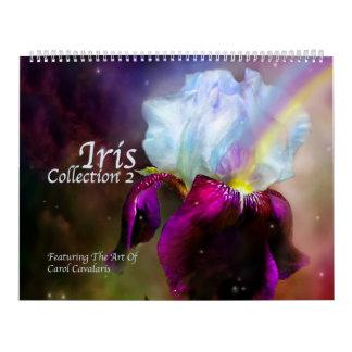 Iris Collection 2 Art Calendar 2016