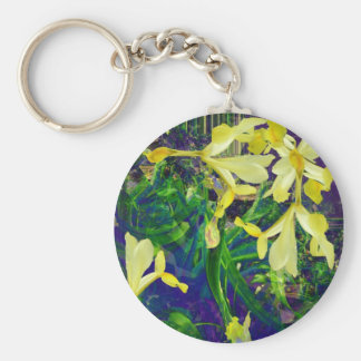 Iris composition Keychain