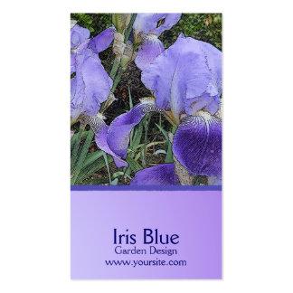 Iris Dapple Custom Business Card