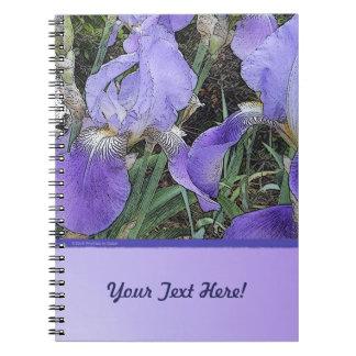 Iris Dapple Notebook