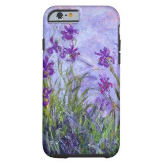 Iris de la púrpura de Monet Funda Resistente iPhone 6