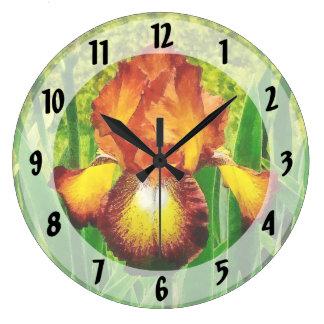 Iris de Spreckles Reloj Redondo Grande