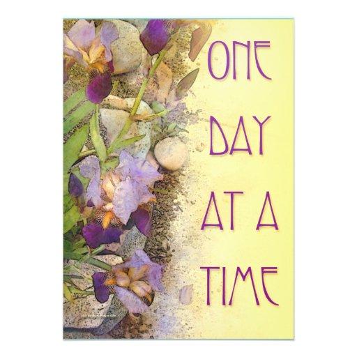 Iris de un día a la vez (ODAT) Comunicado