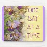 Iris de un día a la vez (ODAT) Tapetes De Ratón