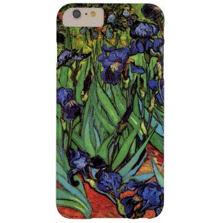 Iris de Van Gogh, arte del impresionismo del poste Funda De iPhone 6 Plus Barely There