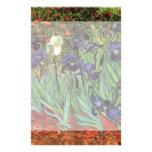 Iris de Van Gogh, arte del impresionismo del poste Papeleria