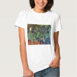 Iris de Van Gogh, arte del impresionismo del poste Tshirt