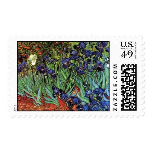Iris de Van Gogh, arte del impresionismo del poste Envio