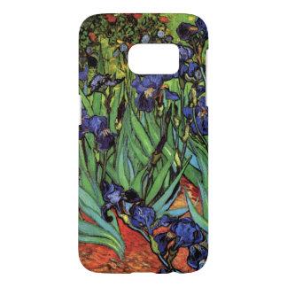 Iris de Van Gogh, bella arte del jardín del Funda Samsung Galaxy S7