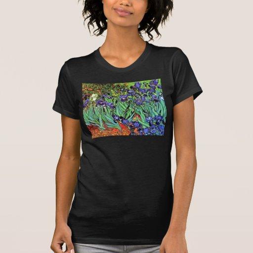 Iris de Van Gogh Camisetas