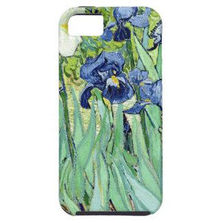Iris de Van Gogh iPhone 5 Fundas