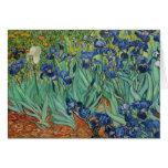 Iris de Van Gogh, Notecard Tarjeta De Felicitación